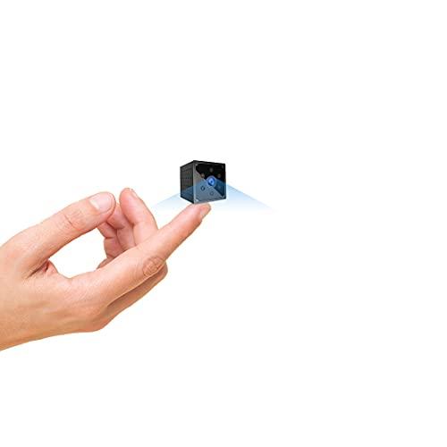 Cámara Espía, AOBO 4K HD Mini Camara Oculta WiFi para Ver en el Movil con App, Microcamara Inalambricas con Batería Larga Duracion por Interior Spy CAM Visión Nocturna Detección de Movimiento