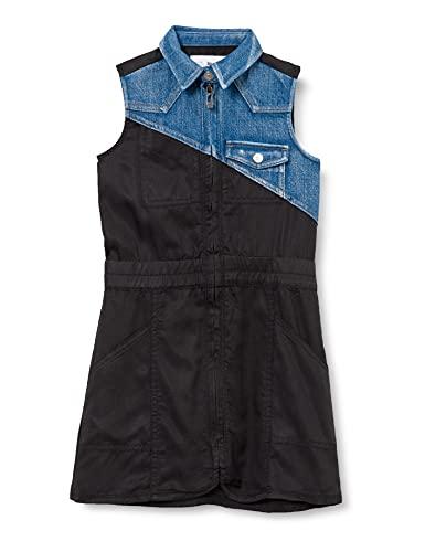 Desigual Vest_IRATXE Vestimenta Casual, Black, 13/14 para Niñas