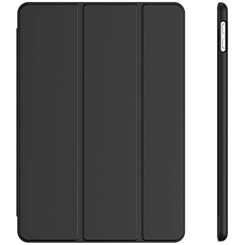 JETech Funda Compatible con iPad 8/7 (10,2 Pulgadas, 2020/2019 Modelo, 8.ª/ 7.ª Generación), Carcasa con Auto-Sueño/Estela (Negro)