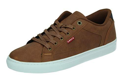 Levi's COURTRIGHT, Zapatillas Hombre, marrón, 45 EU