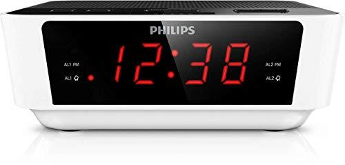 Philips AJ3115 - Radio Despertador, Blanco
