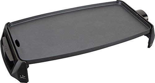 Jata GR195 Plancha de Asar Cocina por Igual en Toda la Superficie 46 x 25 cm Antiadherente Libre de PFOA Muy resistente al rayado Fácil limpieza con Bandeja Colectora de Salsas