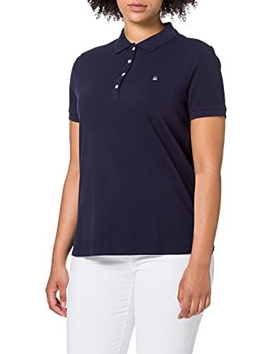 United Colors of Benetton (Z6ERJ Maglia Polo M/M 3WG9E3173 Camisa, BLU 016, S para Mujer