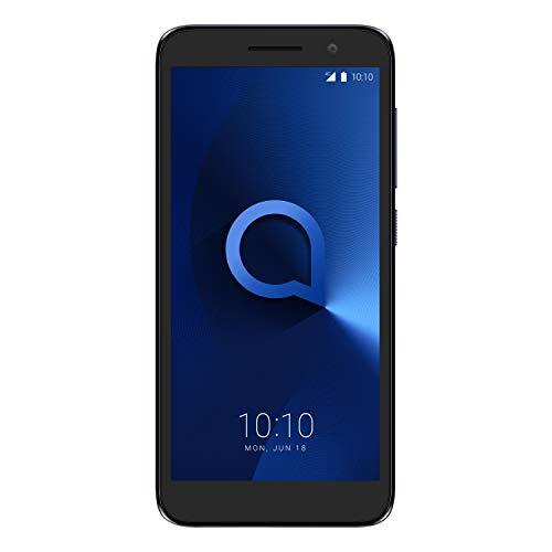 Alcatel 5033D 1 2019, Smartphone - Pantalla 5' - Cámara trasera 5MP y frontal (selfie) 2MP - Memoria 8GB ROM + 1 RAM - Azul [Versión ES/PT]