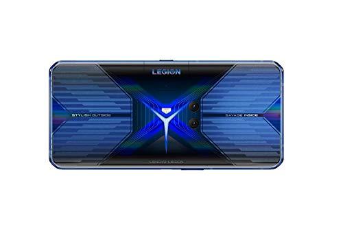 Lenovo Legion Phone Duel- Móvil Gaming 6.65'' FullHD, Snapdragon 865+ 5G, 12GB RAM, 256 GB UFS 3.1, Tarjeta gráfica Qualcomm Adreno 650, Android 10, Azul [Versión ES/PT]