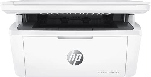 HP LaserJet Pro MFP M28a W2G54A, Impresora A4 Multifunción Monocromo, Imprime, Escanea y Copia, Puerto Hi-Speed USB 2.0, Panel de Control LED, Blanca