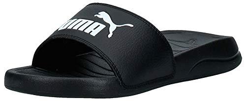 PUMA Popcat 20, Zapatos de Playa y Piscina Unisex Adulto, Black White, 43 EU