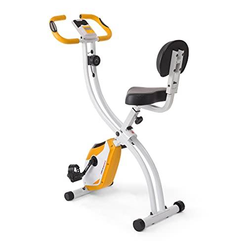 Ultrasport Bicicleta de ejercicio avanzada unisex F-Bike, pantalla LCD, entrenador doméstico plegable, bicicleta de fitness (el diseño puede variar)