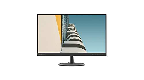 Lenovo D24-20 - Monitor 23.8' FullHD (VA, 75Hz, 4ms, HDMI, VGA, FreeSync) Ajuste de inclinación - Negro