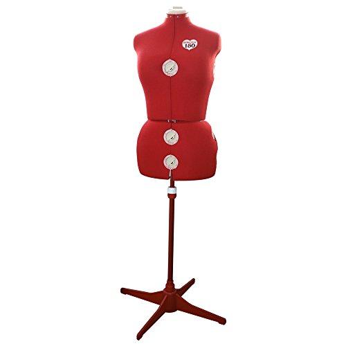 Singer DF150 - Maniquí de costura adjustable mediano, Tallas 36-44