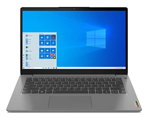 Lenovo IdeaPad 3 - Ordenador Portátil 14' FullHD (Intel Core i3-1115G4, 8GB RAM, 256GB SSD, Intel UHD Graphics, Windows 10 Home), Color Gris - Teclado QWERTY Español