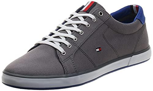 Tommy Hilfiger H2285arlow 1d, Zapatillas Hombre, Gris (Steel Grey 596), 42 EU