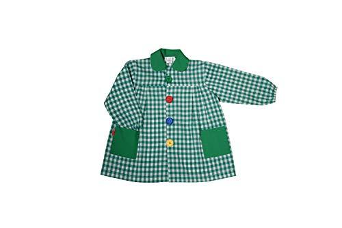 GRUPO MARBLAN BABI Escolar Infantil Cuadros (Cuadro Verde Oscuro, 3)