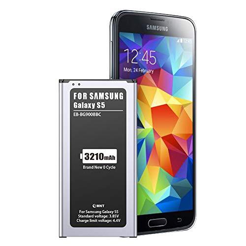 3210mAh Batería para Samsung Galaxy S5,EMNT de Alta Capacidad Reemplazo de Ion de Litio batería de Repuesto Compatible con Original Galaxy S5 Sin NFC-2 Years Warranty【No para S5 Mini】