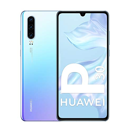 Huawei P30 - Smartphone de 6.1' (Kirin 980 Octa-Core de 2.6GHz, RAM de 6 GB, Memoria interna de 128 GB, cámara de 40 MP, Android) Color Nácar [Versión española]
