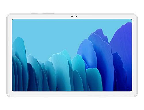 SAMSUNG Galaxy Tab A 7 | Tablet de 10.4' FullHD (4G, Procesador Octa-core Qualcomm Snapdragon 662, RAM de 3GB, Almacenamiento de 32GB, Android actualizable) - Color Plata [Versión española]