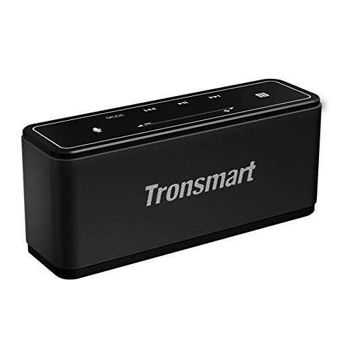 Tronsmart Mega Altavoz Bluetooth, Sonido Digital 3D, Panel Táctil, 40W Altavoz inalámbrico Portátil con NFC, 15H de Reproducción Continua y Manos Libres para Fiesta, Hogar, Playa, Viajes - Negro