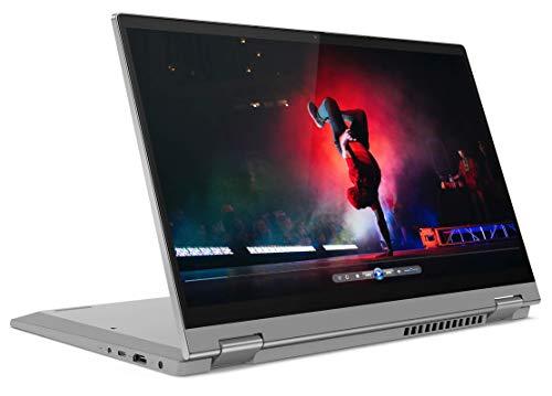 Lenovo IdeaPad Flex 5 - Portátil táctil convertible 14' FullHD (Intel Core i5-1135G7, 8GB RAM, 512GB SSD, Intel Iris Xe Graphics, Windows 10 Home), Color Gris - Teclado QWERTY Español