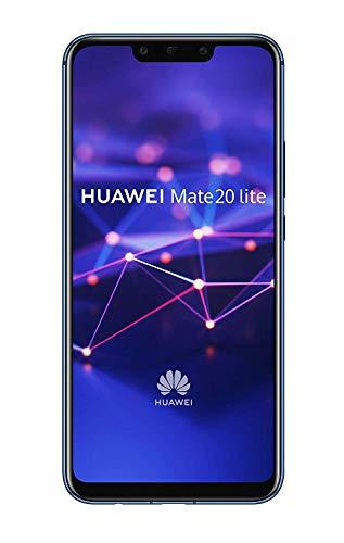Huawei Mate 20 Lite - Smartphone Dual SIM de 6.3' Full HD (Kirin 710, 4 GB de RAM, 64 GB de memoria interna, cámara dual de 24 + 2 MP) azul