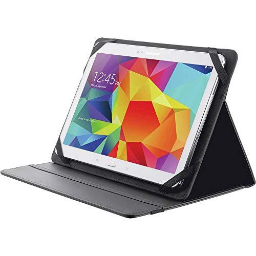 Trust 20058 Urban - Funda Universal con Función Soporte, para Tabletas de 10', con un Tamaño de hasta 26.6 x 19 cm, color Negro