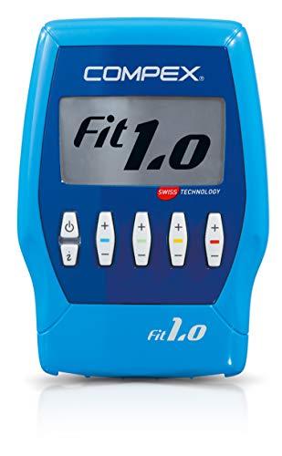 Compex Fit 1.0 Electroestimulador, Unisex, Azul