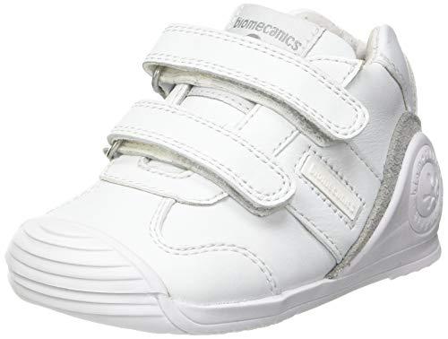 Biomecanics 151157, Zapatillas Unisex niños, Blanco (Super Soft), 23 EU