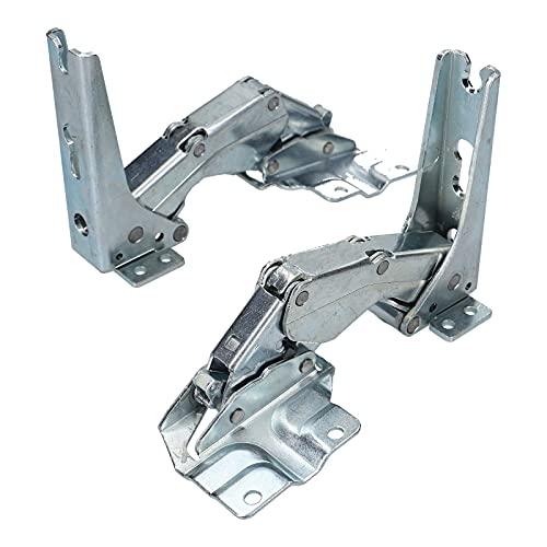 DL-pro Bisagra de puerta para Bosch Siemens Balay 481147 00481147 Miele 5546050 AEG Electrolux 407131425/8 para frigorífico refrigerador