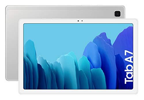 SAMSUNG Galaxy Tab A 7 | Tablet de 10.4' (WiFi, Procesador Octa-Core Qualcomm Snapdragon 662, 3GB de RAM, 64GB de Almacenamiento, Android actualizable) Color Silver [Versión española]
