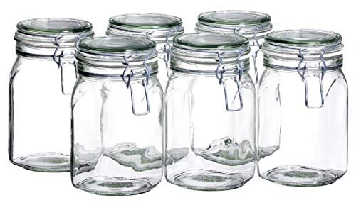 Gothika Joseph Maeser 925340 Botes para conservas (Cristal, 6 Unidades)