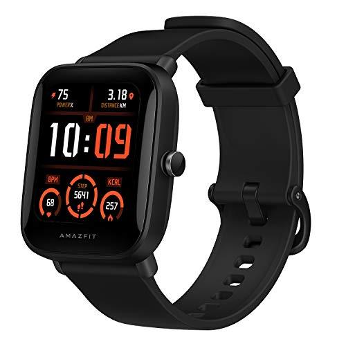 Amazfit Bip U Pro Smart Watch Reloj Inteligente con GPS Incorporado 60+ Modos Deportivos 5 ATM Fitness Tracker Oxígeno Sangre Frecuencia cardíaca Monitor de sueño y estrés 1.43 'Pantalla táctil
