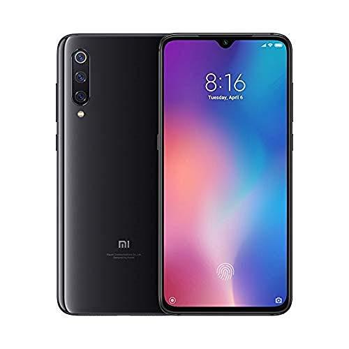 Xiaomi Mi 9 – Smartphone de AMOLED de 6,39' (4G, Octa Core Qualcomm SD 855 2.8 GHz, RAM de 6 GB, memoria de 64 GB, cámara triple de 48 + 16 + 12 MP, Android) color negro piano [Versión española]