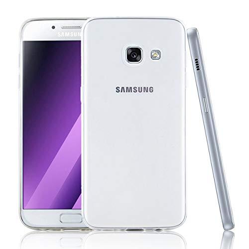 NEW'C Funda para Samsung Galaxy A5 (2017), Anti- Choques y Anti- Arañazos, Silicona TPU, HD Clara