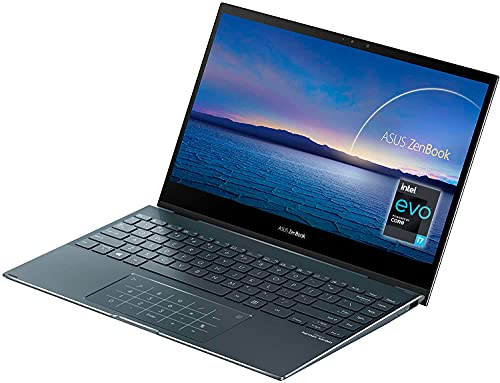 ASUS ZenBook Flip 13 UX363JA-EM189T - Portátil convertible 13.3' FullHD (Intel Core i5-1035G4, 16GB RAM, 512GB SSD, Intel Iris Plus Graphics, Windows 10 Home) Gris Pino-Teclado QWERTY español