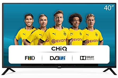 CHiQ Televisor 40 Pulgadas Full HD (NO Smart TV), 3 x HDMI, 2 x USB, Sintonizador Triple (DVBT / T2 / C / S2), Reproductor Multimedia a través del Puerto USB - L40G4500