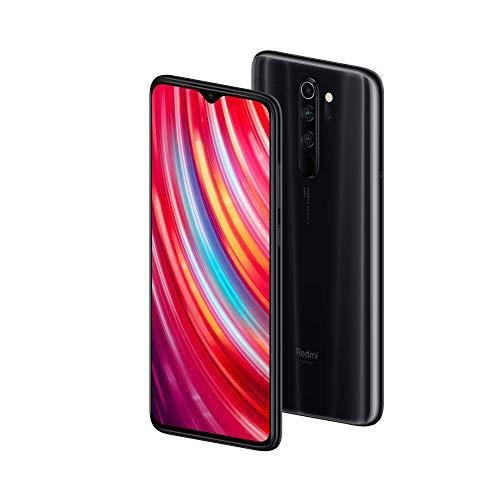 Xiaomi Redmi Note 8 Pro - Smartphone de 6.53' FHD+ (6 GB RAM, 128 GB ROM, cámara cuádruple de 64 MP, MTK Helio G90T, 4G, bateria de 4500 mAh) Mineral Grey