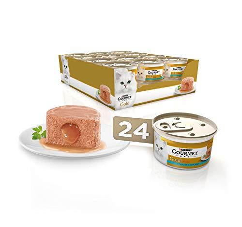 Purina Gourmet Gold Fondant comida para gatos con Atun 24 x 85 g
