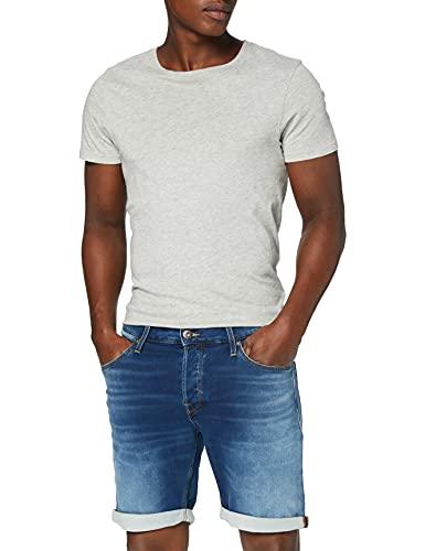 Jack & Jones Jjirick Jjicon Shorts GE 006 I.k STS Pantalones Cortos, Mezclilla Azul, M para Hombre