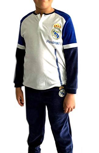 Real Madrid Pijama niño Invierno Terciopelo (10)