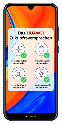 HUAWEI Y6s 15,5 cm (6.09') 3 GB 32 GB SIM Doble Azul 3020 mAh Y6s, 15,5 cm (6.09'), 3 GB, 32 GB, 13 MP, Android 9.0, Azul