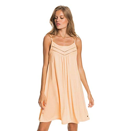 Roxy Vestido con Tirantes para Mujer Informal, Apricot Ice, XS