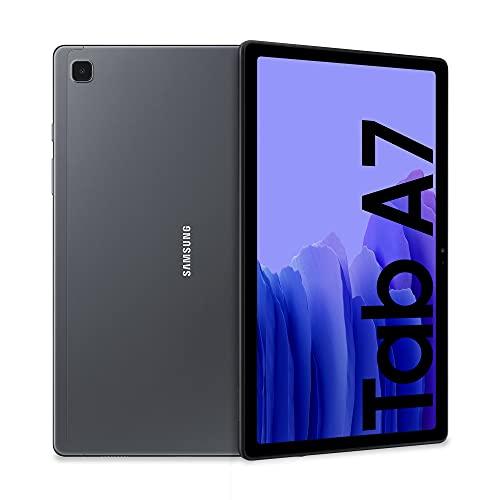 SAMSUNG Galaxy Tab A7 LTE - Tablet 32GB, 3GB RAM, Gris (Dark Gray)