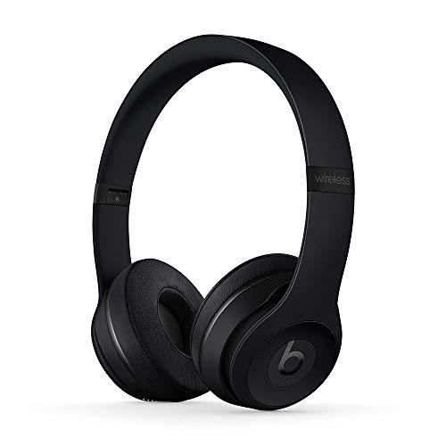 Beats Solo3 Wireless - Auriculares supraaurales - Chip Apple W1, Bluetooth de Clase 1, 40 Horas de Sonido ininterrumpido - Negro