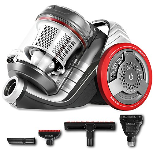 Cecotec Aspirador sin Bolsa Potente de Trineo Conga EcoExtreme 3000. 700 W, Eficiencia Energética 3AAA, Depósito 3,5 litros, 4 Accesorios, Filtrado Alta eficiencia