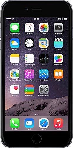 Apple iPhone 6 Plus - Smartphone libre iOS, Pantalla 5.5', 64 GB (Dual-Core 1.4 GHz, 2 GB de RAM, cámara de 8 MP), (Reacondicionado) (CPO), Gris (Grey)
