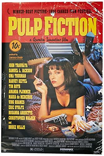 Grupo Erik Editores Poster Pulp Fiction