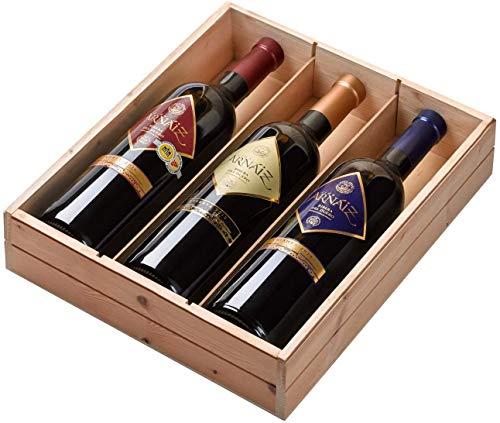 Viña Arnáiz - Estuche de 3 Botellas de Vino con D.O. Ribera del Duero - Reserva, Crianza y Roble - Estuche de 3 Botellas x 750 ml