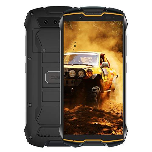 CUBOT Kingkong Mini 2 Smartphone, teléfono móvil para Exteriores, Pantalla de 4 Pulgadas, Memoria Interna de 3GB RAM / 32GB, batería de 3000mAh, cámara de 13MP, Android 10, Dual SIM, Negro + Naranja