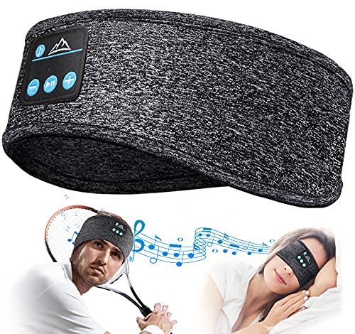 Auriculares para Dormir Regalos Originales para Hombre Mujer - Amigo Invisible Regalos Antifaz para Dormir Auriculares para Dormir con Ultrafinos HD Estéreo Altavoces, Orejeras Antiruido para Dormir